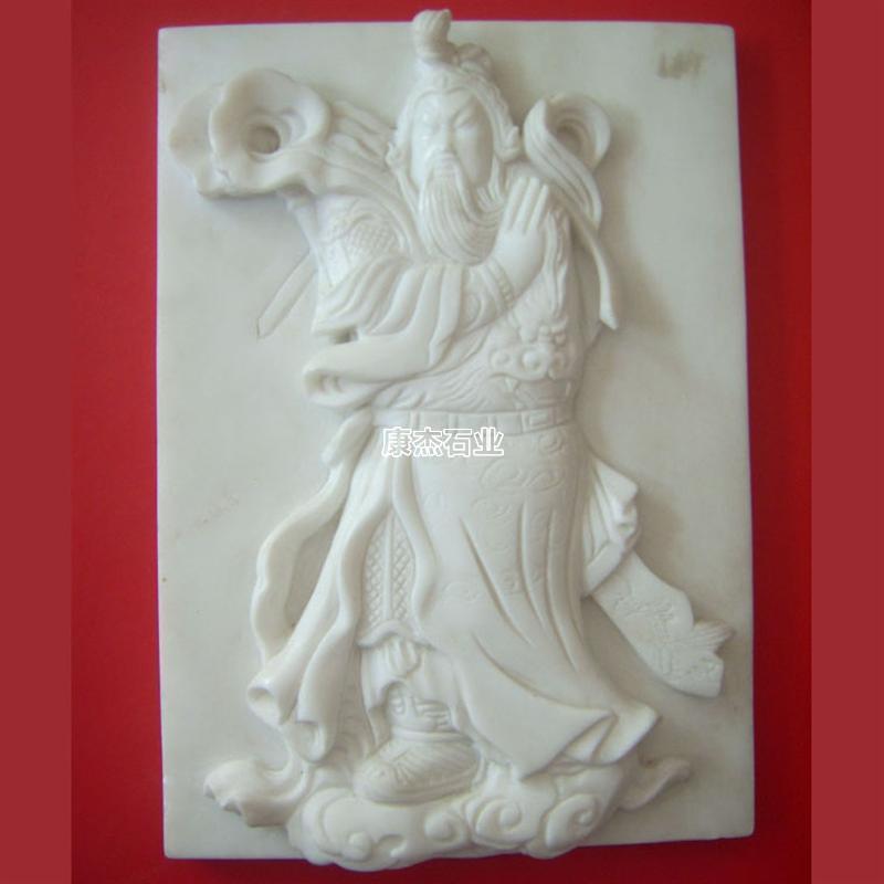 汉白玉人物浮雕